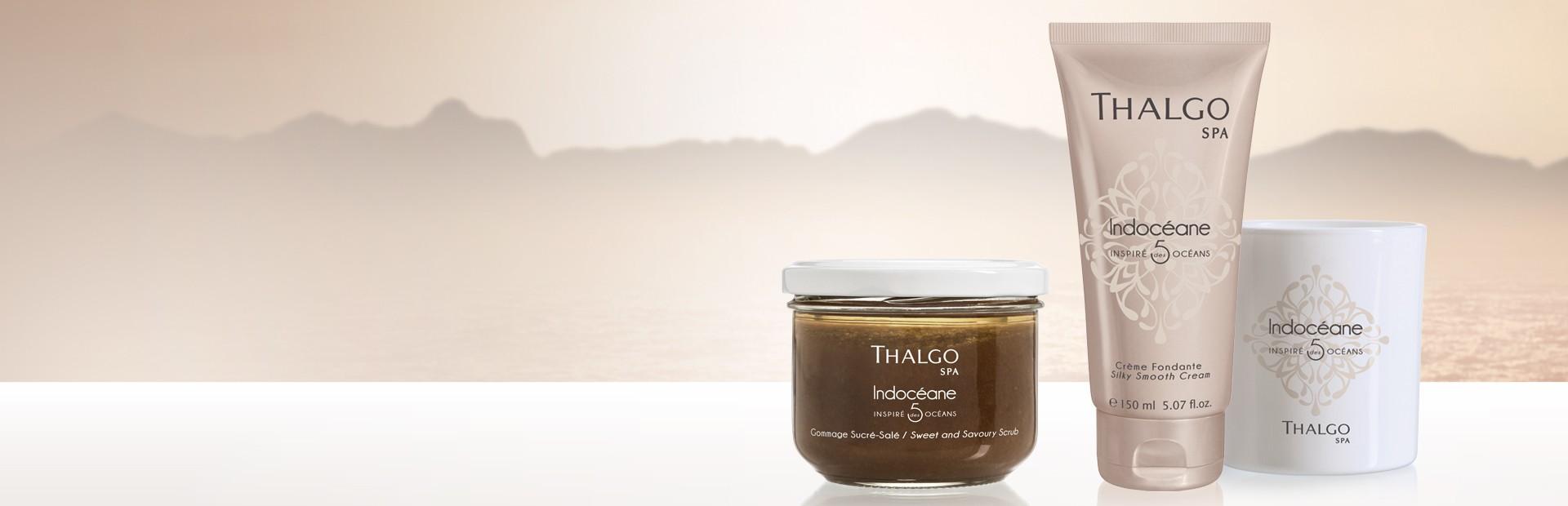 Thalgo, Rituels Spa, Indocéane, Soins et produits à base de